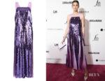 Whitney Port's Tibi Sequin Flared Dress