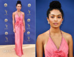 Yara Shahidi In Gucci - 2018 Emmy Awards
