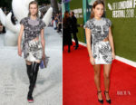 Adele Exarchopoulos In Louis Vuitton - 'The White Crow' London Film Festival Premiere