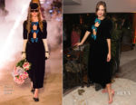 Alexa Chung In Gucci - AnOther Magazine X Prada Private Screening and Party