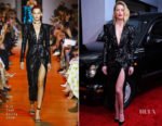 Amber Heard In Elie Saab - 'London Fields' LA Premiere