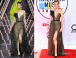 Amber Heard In Ralph & Russo Couture - 2018 American Music Awards