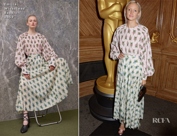 Andrea Riseborough In Erdem - The Academy Of Motion Pictures Arts and Sciences Women's Initiative Lunch