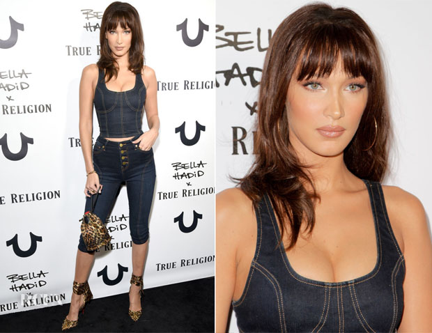 Bella Hadid x True Religion Event