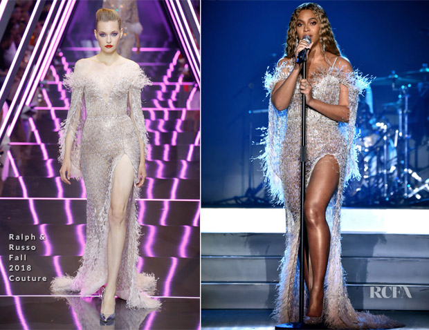 Beyonce Knowles In Ralph & Russo Couture - City of Hope Spirit Of Life Gala 2018