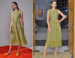 Camilla Belle In Novis - The Getty + C Magazine Dinner