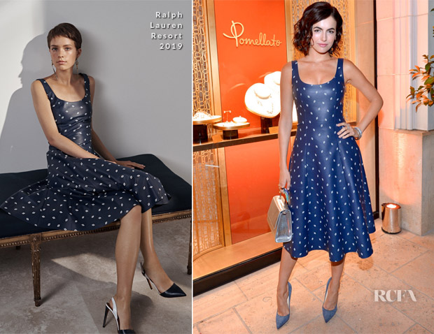 Camilla Belle In Ralph Lauren - Pomellato Celebrates Beverly Hills Store Opening