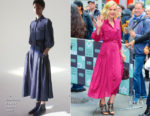 Carey Mulligan In Gabriela Hearst - The Today Show