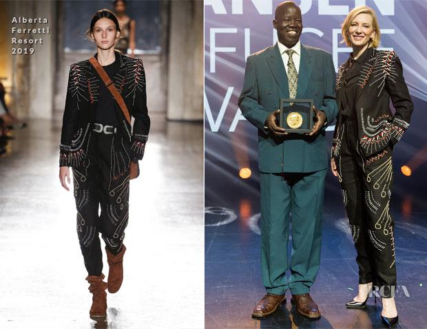 Cate Blanchett In Alberta Ferretti - UNHCR's Nansen Refugee Awards