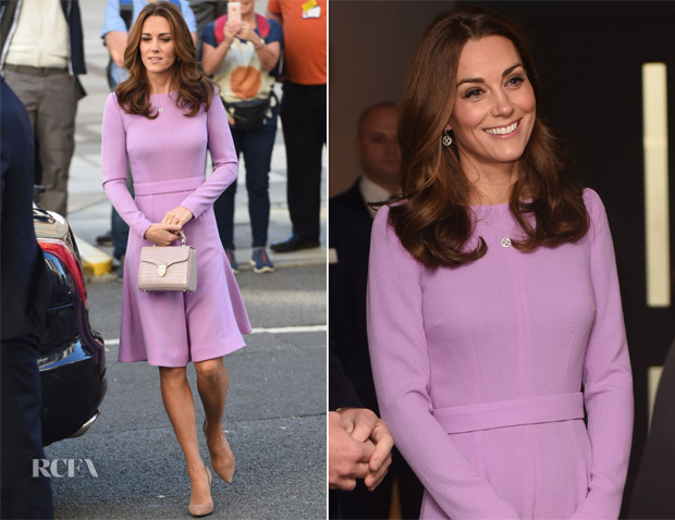 Catherine, Duchess of Cambridge In Emilia Wicktead - The Global Ministerial Mental Health Summit