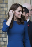 Catherine, Duchess of Cambridge In Jenny Packham - The Imperial War Museum Visit