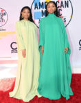 Chloe X Halle In Valentino - 2018 American Music Awards