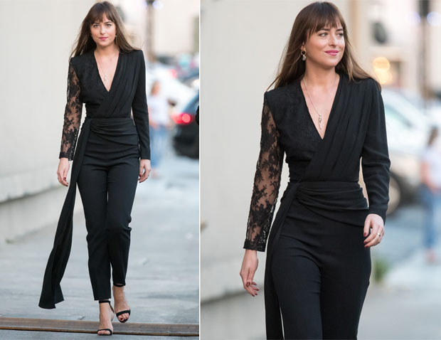 Dakota Johnson In Givenchy - Jimmy Kimmel Live!