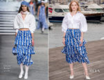 Ellie Bamber In Chanel - 'Les Miserables' MIPCOM 2018 Photocall
