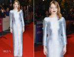 Emma Stone In Louis Vuitton - 'The Favourite' London Premiere