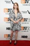 Emma Stone In Louis Vuitton - 'The Favourite' New York Film Festival Premiere