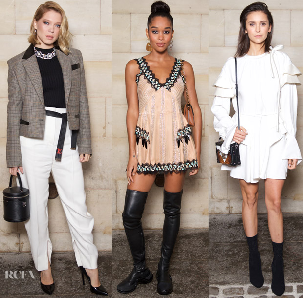 Front Row @ Louis Vuitton Spring 2019