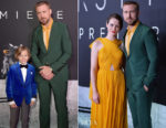 Gavin Warren In Balani & Ryan Gosling In Gucci - 'First Man' Washington, DC Premiere