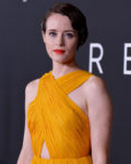Claire Foy In Oscar de la Renta - 'First Man' Washington, DC Premiere