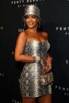 Rihanna In Atelier Versace In Atelier Versace - Fenty Beauty by Rihanna Anniversary Event