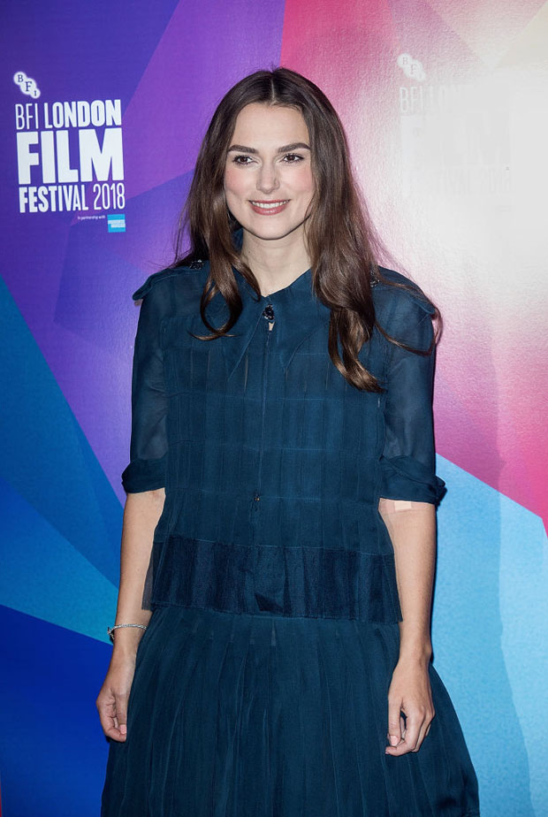 Keira Knightley In Chanel Haute Couture - BFI London Film Festival Screen Talks