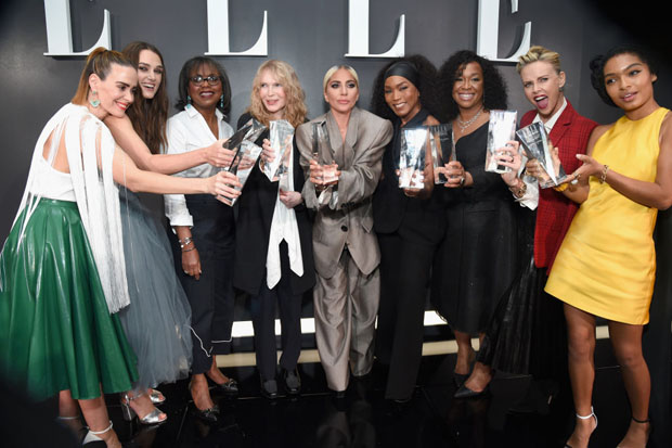 Angela Bassett In Azzi & Osta - ELLE's 25th Annual Women In Hollywood Celebration