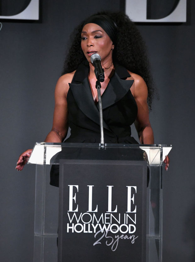 Angela Bassett In Azzi & Osta - ELLE's 25th Annual Women In Hollywood Celebration