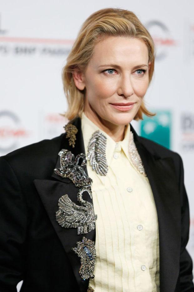 Cate Blanchett In Acne Studios