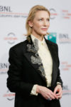 Cate Blanchett In Acne Studios - 'The House With A Clock In Its Walls' Rome Film Festival Photocall