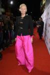 Tilda Swinton In Schiaparelli Haute Couture - 'Suspiria' LA Premiere