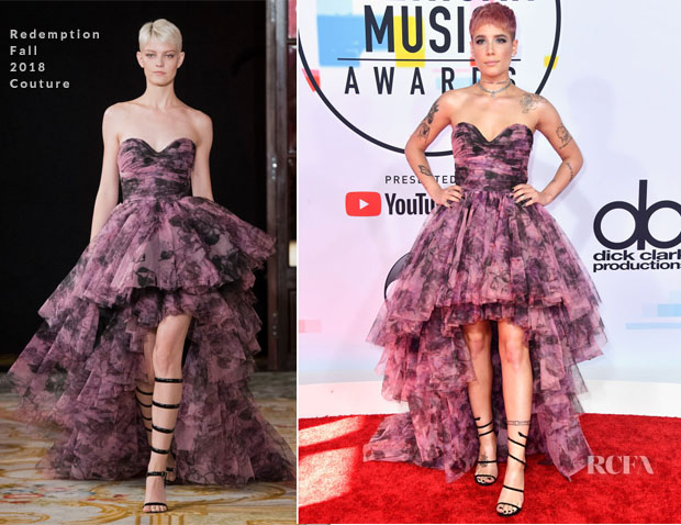 Halsey In Redemption Couture - 2018 American Music Awards