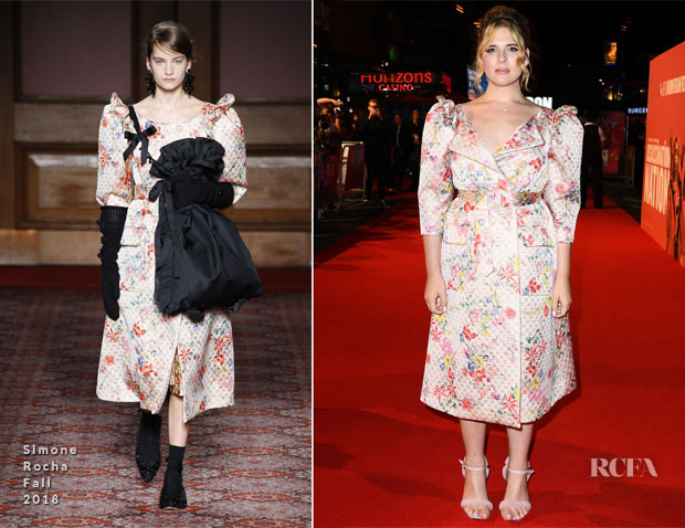 Hari Nef In Simone Rocha - 'Assassination Nation' London Premiere