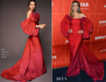 Heidi Klum In Zac Posen - amfAR Los Angeles 2018