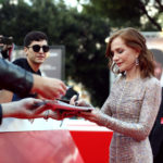 Isabelle Huppert In Armani Prive - 2018 Rome Film Festival