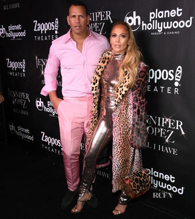 Jennifer Lopez & Alex Rodriguez In Tom Ford - 'Jennifer Lopez: All I Have' Finale