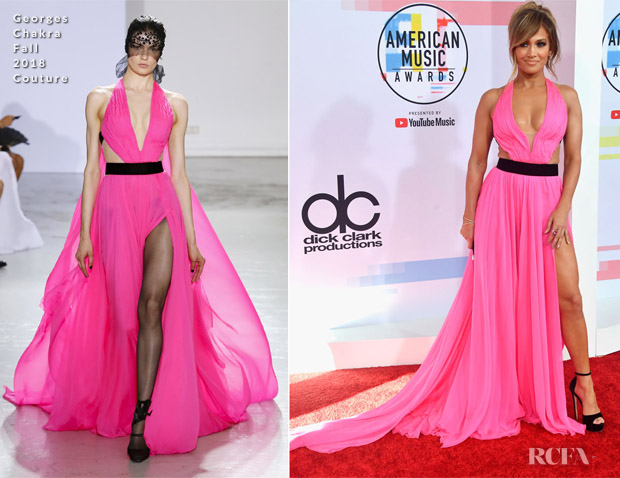 Jennifer Lopez In Georges Chakra Couture - 2018 American Music Awards