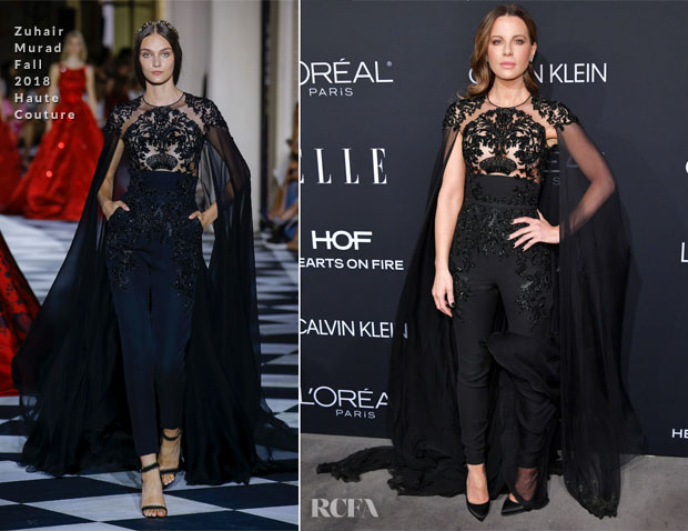 Kate Beckinsale In Zuhair Murad Haute Couture - ELLE's 25th Annual Women In Hollywood Celebration
