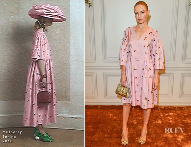 Kate Bosworth In Mulberry - Vogue x Holt Renfrew Pop Up Launch Party