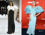 Katy Perry In Alexis Mabille Haute Couture - amfAR Los Angeles 2018
