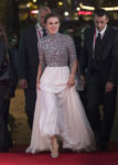 Keira Knightley In Chanel Haute Couture - 'Colette' London Film Festival Premiere