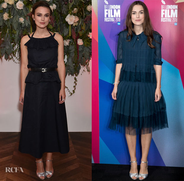 Keira Knightley In Chanel Haute Couture - BFI London Film Festival Screen Talks Colette