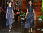 Keira Knightley In Peter Pilotto - The Ellen DeGeneres Show