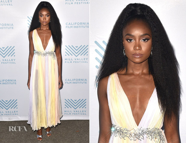 Kiki Layne Miu Miu - 'If Beale Street Could Talk' Mill Valley Film Festival Premiere