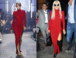 Lady Gaga In Alexandre Vauthier Haute Couture - Faces and Names Bar