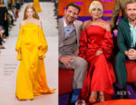 Lady Gaga In Carolina Herrera - The Graham Norton Show