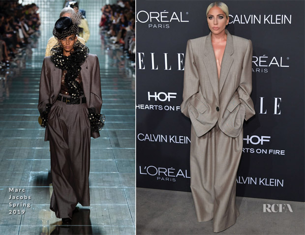 Lady Gaga In Marc Jacobs - ELLE's 25th Annual Women In ...