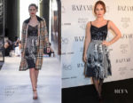 Lily James In Burberry - 2018 Harper's Bazaar Women of the Year Awards