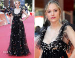 Maika Monroe In Valentino - 'Hot Summer Nights' Rome Film Festival