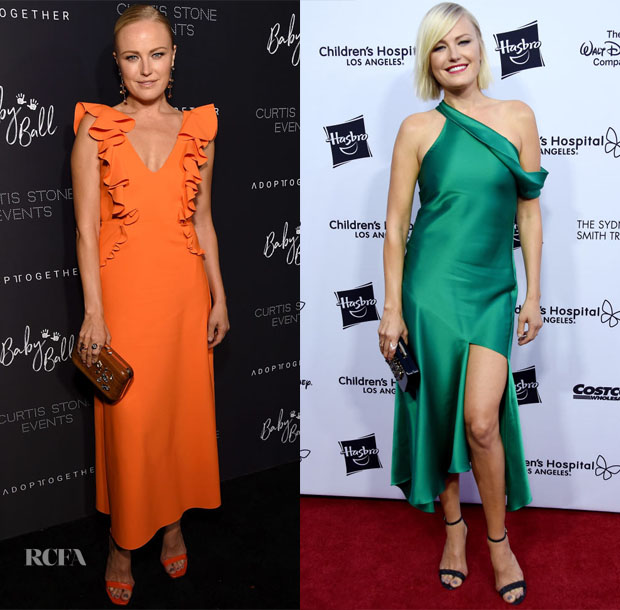 Malin Akerman In Greta Constantine & Cushnie - 4th Adopt Together Baby Ball Gala & 2018 From Paris With Love Children's Hospital Los Angeles Gala
