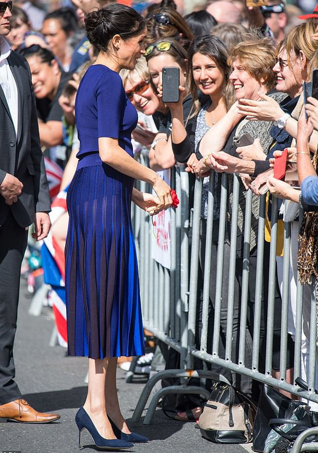 Meghan, Duchess of Sussex In Givenchy - Rainbow Springs Visit